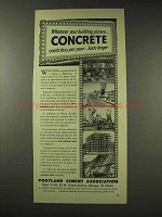 1948 Portland Cement Ad - Your Building Picture