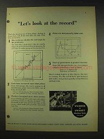 1948 Warner & Swasey Machine Tools Ad - Look At Record