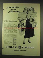 1948 General Electric Air Conditioning Ad