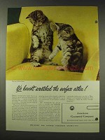 1948 American Cyanamid Acrylonitrile Ad - The Surface