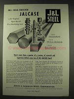 1948 Jones & Laughlin Steel Ad - Jalcase