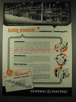 1948 General Electric Packaged Heating Process Ad