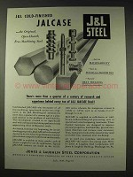 1948 Jones & Laughlin Steel Ad - Cold-Finished Jalcase