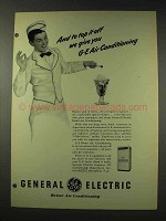 1948 General Electric Air Conditioning Ad - Top it Off