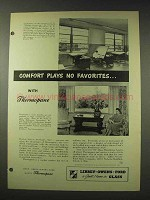 1948 Libbey Owens Ford Thermopane Glass Ad - No Favorites