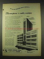 1948 Libbey Owens Ford Thermopane Glass Ad - Available