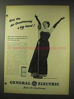 1948 General Electric Air Conditioning Ad - a Big Hand