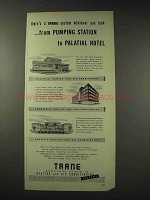 1948 Trane Heating and Air Conditioning Ad - Wherever