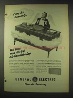 1948 General Electric Air Conditioning Ad - Heavenly