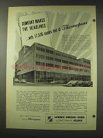 1948 Libbey Owens Ford Thermopane Glass Ad - Comfort
