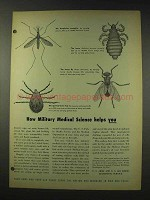1948 U.S. Army Ad - Military Medical Science Helps You