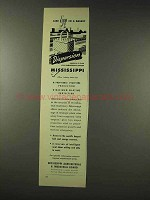 1948 Mississippi Agricultural & Industrial Board Ad