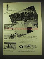 1948 Bermuda Tourism Ad - If Minutes Had Been Hours