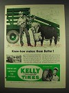 1948 Kelly Springfield Tires Ad - Know-How Makes Better