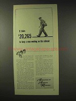 1948 Association of American Railroads Ad - Working