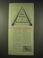1948 Association of American Railroads Ad - Magic