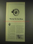 1948 Association of American Railroads Ad - Iron Horse