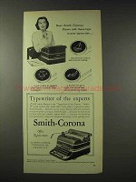 1948 Smith-Corona Typewriter Ad - Of The Experts