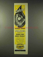 1948 Pennzoil Oil Ad - Catch!