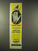 1948 Pennzoil Oil Ad - Stop!