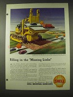 1948 Shell Oil Ad - Filling in the Missing Links
