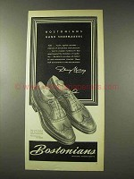 1948 Bostonians Gull Shoe Ad - Hand Shoemakers