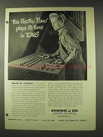 1948 Bituminous Coal Ad - Electric Piano Plays in Tons