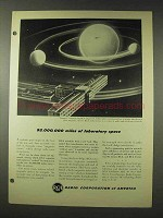 1948 RCA Sunspot Research Ad - Laboratory Space