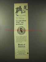 1948 Bank of America Ad - Nation's Food Market