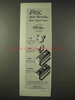 1948 Old Spice Mug, Stick, Lather,  Shaving Cream Ad