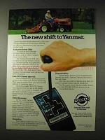 1981 Yanmar Tractor Ad - The New Shift To Yanmar
