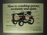 1976 Wheel Horse C-185 Garden Tractor Ad - Power