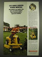 1972 Bolens Riding Mower Ad - Cut Rings Around Other