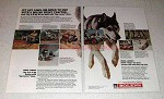 1971 Bolens Husky Lawn Tractor Ad - Cut Down to Size