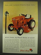 1965 Wheel Horse Lawn Tractor Ad - Wheel-a-Matic