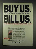 1984 Bryant Gas Furnace Ad - Buy Us Bill Us
