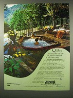 1980 Jacuzzi Quanta Whirlpool Spa Ad - Last for Years