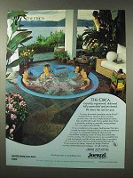 1980 Jacuzzi Circa Whirlpool Spa Ad - Rest For You