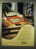 1980 Jacuzzi Athena Whirlpool Bath Ad - Improves Mood