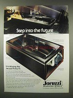 1979 Jacuzzi Prima VI Whirlpool Bath Ad - The Future
