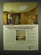 1979 Armstrong Suspended Ceiling Advertisement - Cover it Up!