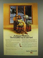 1974 Andersen Windowalls Windows Ad - Save Fuel