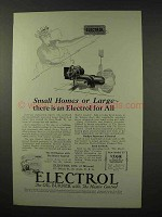 1927 Electrol Model TJ Oil Burner Ad - Small or Large