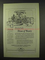 1927 American Face Brick Association Ad - House No. 104