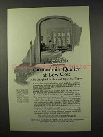 1926 Crittall Casement Window Ad - Custombuilt Quality