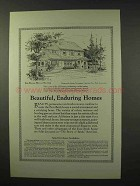 1926 American Face Brick Association Ad - House No. 635