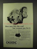 1926 Williams Oil-o-Matic Heating Ad - Women Pay for It