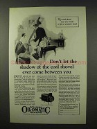 1926 Williams Oil-o-Matic Heating Ad - The Coal Shovel