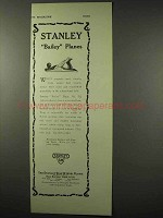 1922 Stanley Tool Ad - Bailey Plane No. 5 1/4