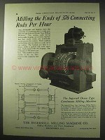 1922 Ingersoll Drum Type Continuous Milling Machine Ad